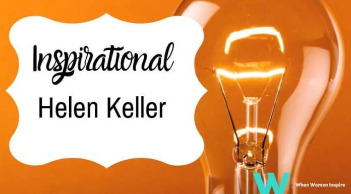 La biographie d'Helen Keller inspire