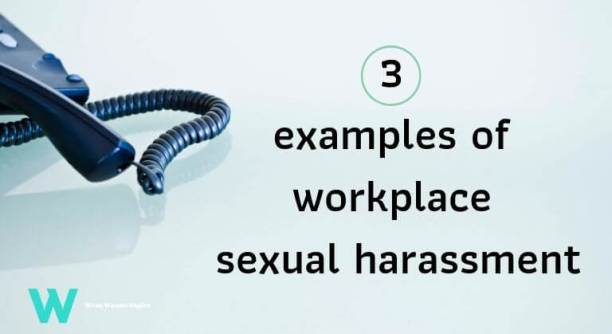 sexual advances at work