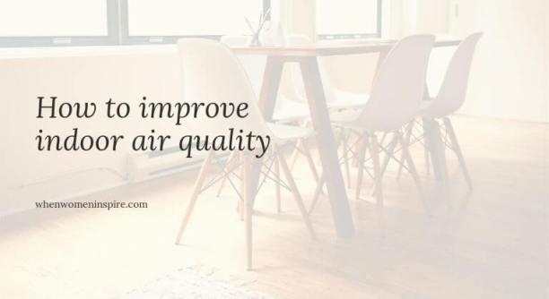 IAQ indoor air tips