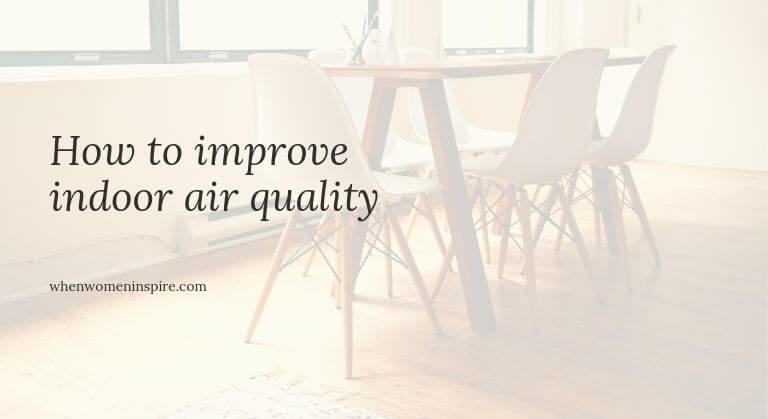 IAQ indoor air tips