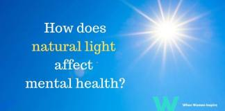 Natural light and mental health