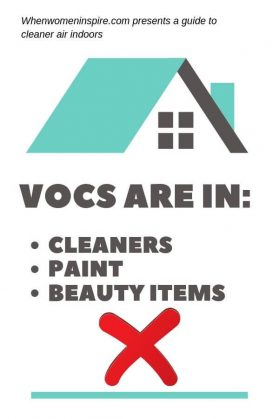 VOCs in the house