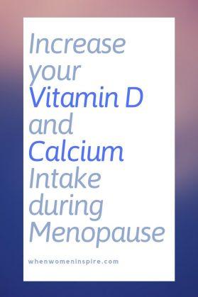 Vitamin D and calcium in menopause