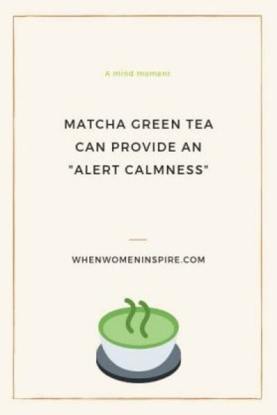 Matcha green tea and brain benefits