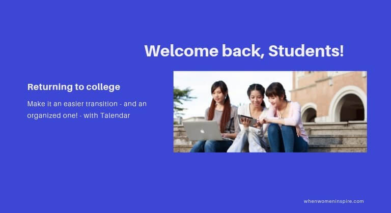 Returning to college with tech
