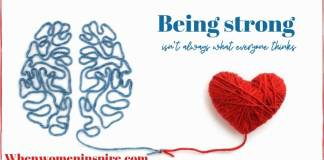 Being mentally strong
