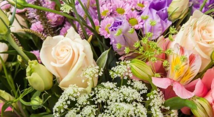 Flower romantic ideas