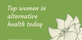 Women in alternative health