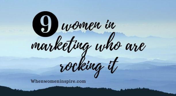 femmes dans le marketing
