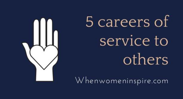 Giving careers