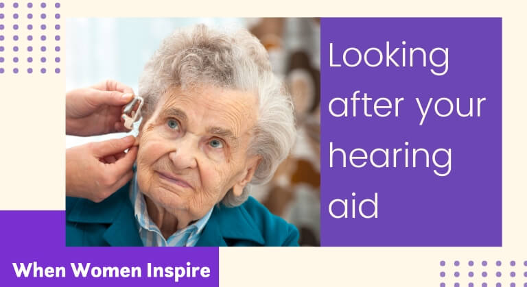 Hearing aid care and maintenance