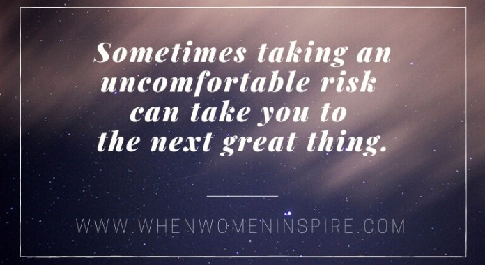 Risks for success quote