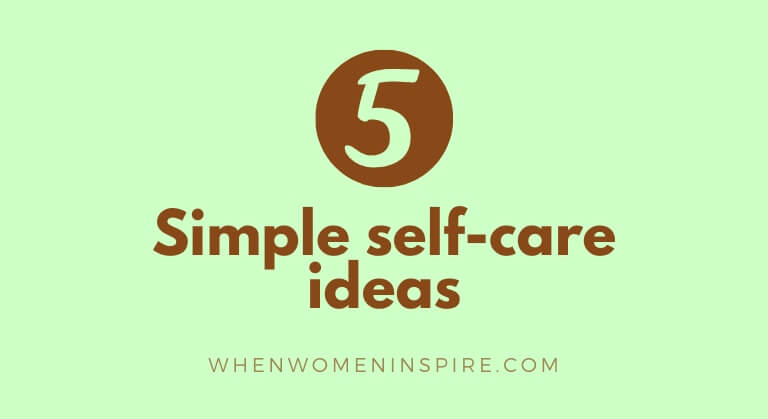Self-care ideas effective coping