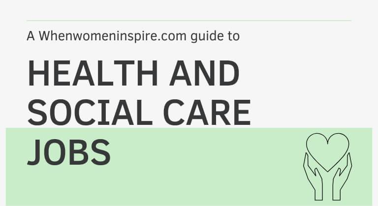 emplois dans le domaine de la santé et des soins sociaux