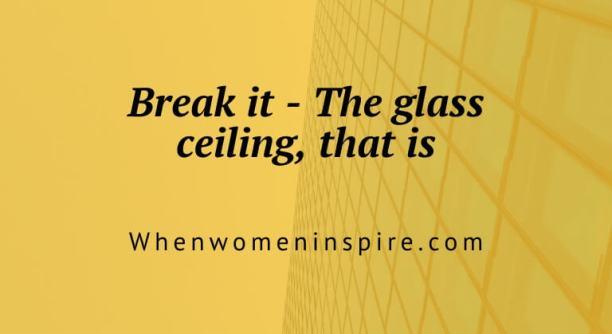 Briser le plafond de verre