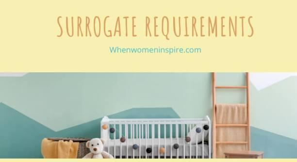 surrogate requirements
