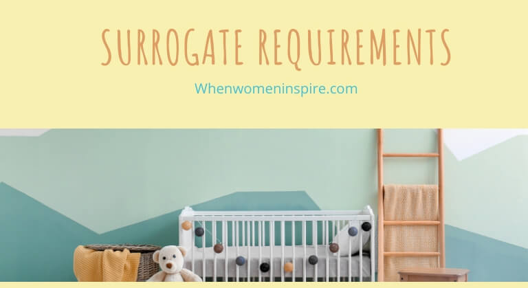 surrogate requirements