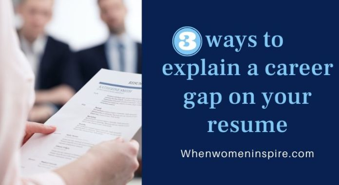 Career gaps in resume