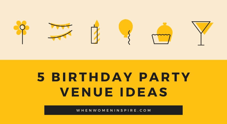 places to have a birthday party