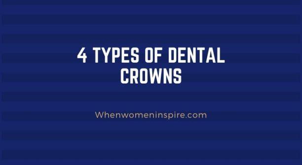Types dentaires de couronne de dent