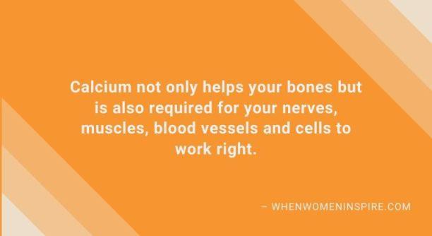 Suppléments comme les avantages du calcium