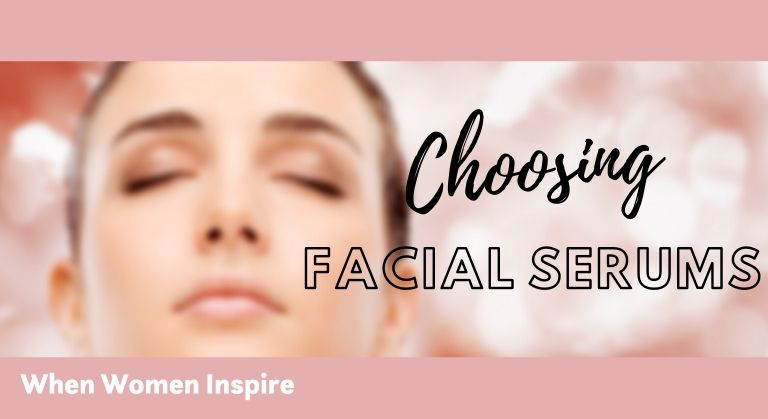 Facial serum for skin type