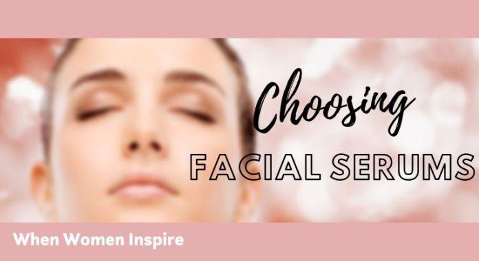 Facial serum for skin type