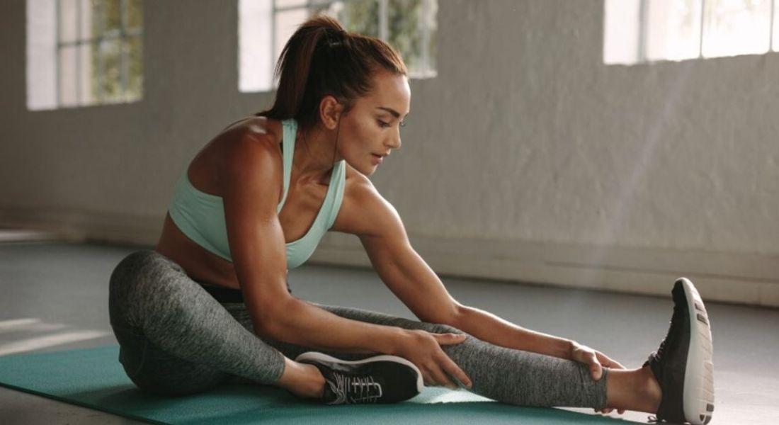 伸展腿身体健康