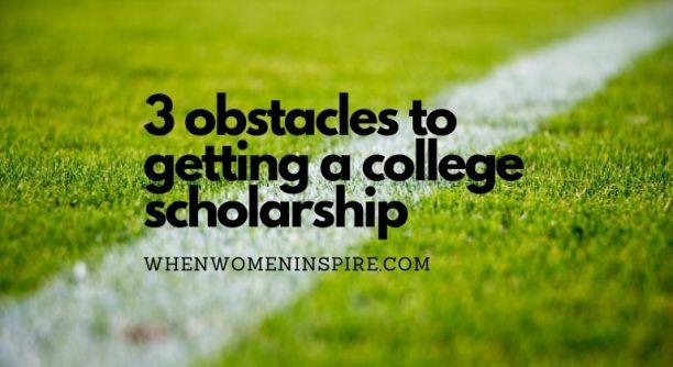 Football scholarship obstacles