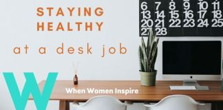 Desk job health tips