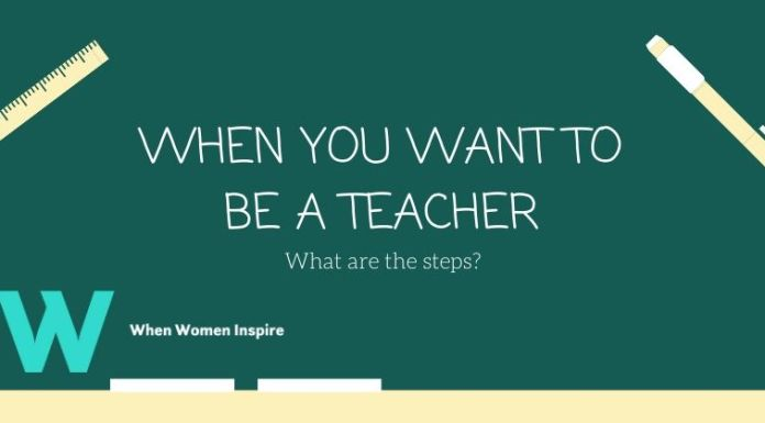 Start your teaching career steps