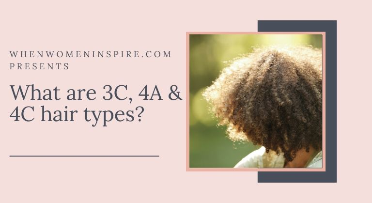 Curly 4c hair types
