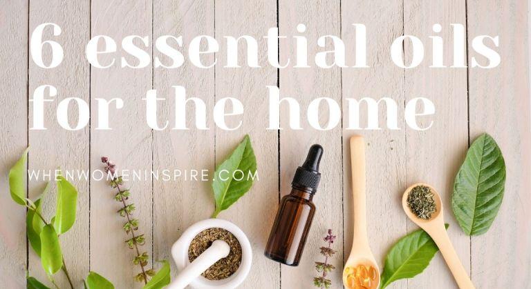 Essential oil air disinfectants