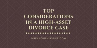 law for high-asset divorce case