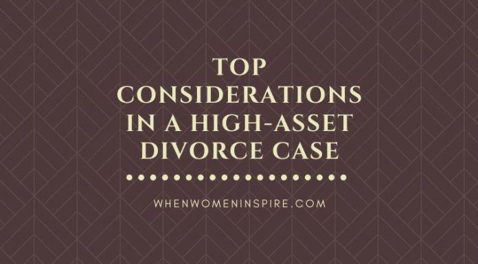 law for high-asset divorce case