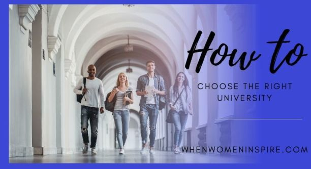 How to choose the right university