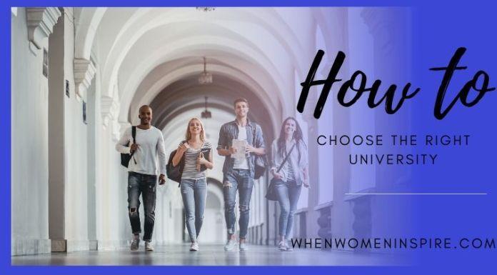 Comment choisir la bonne université