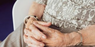 Caring for an elderly relative
