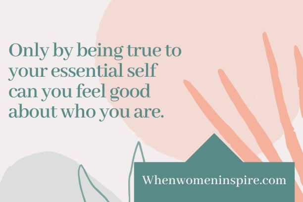 Feel good about yourself quote