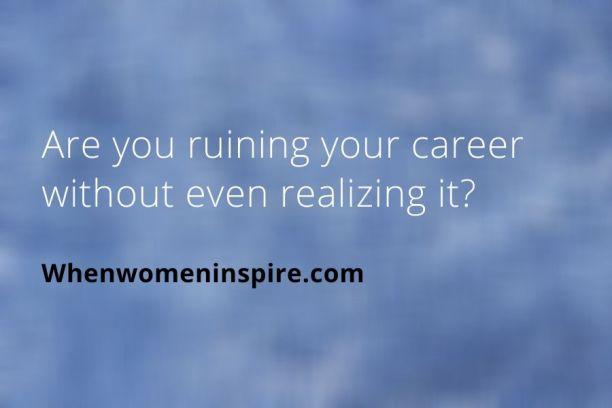 Le travail non-promotable peut nuire à votre carrière