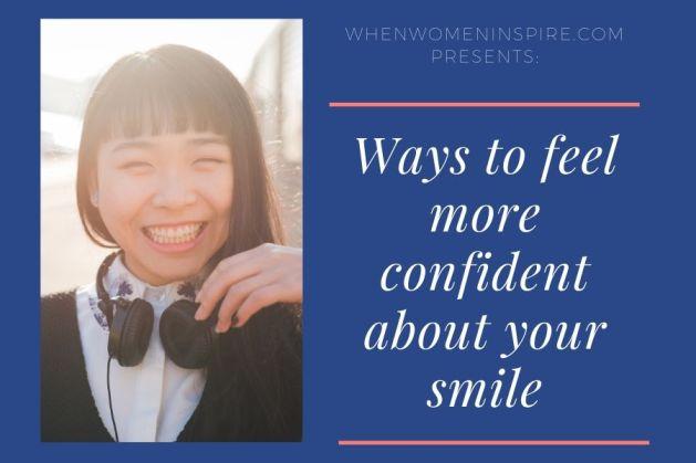 更自信的微笑像她