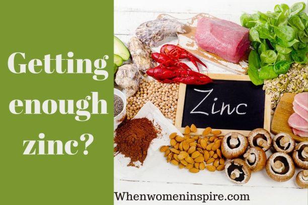 But du zinc dans le corps