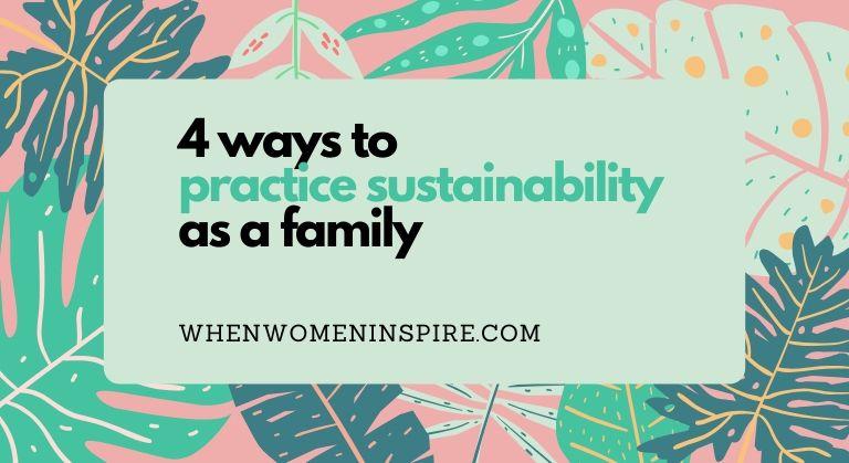 可持续家庭生活