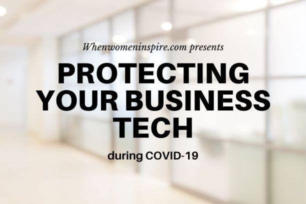 COVID-19 中的商务技术保险箱