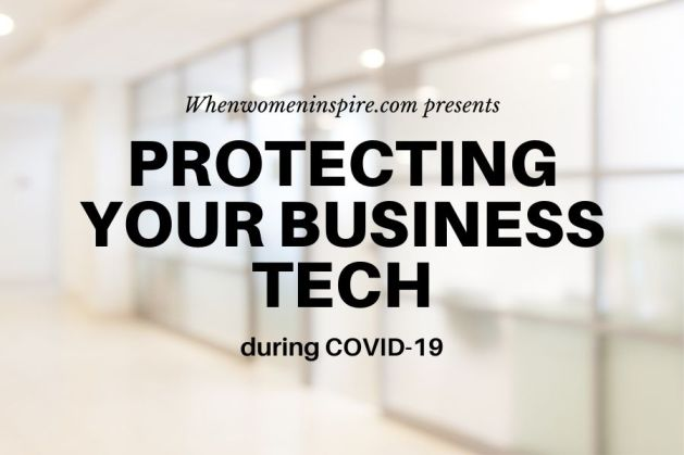 Business tech safe in COVID-19