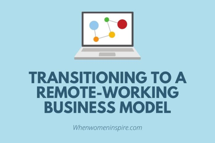 Remote-working business model