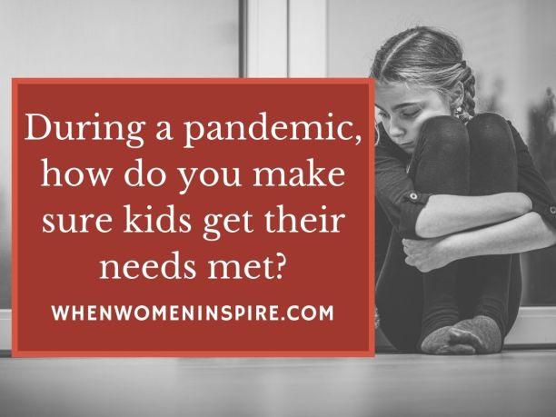 Besoins des enfants en cas de pandémie : guide des parents