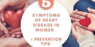 妇女心脏病的症状