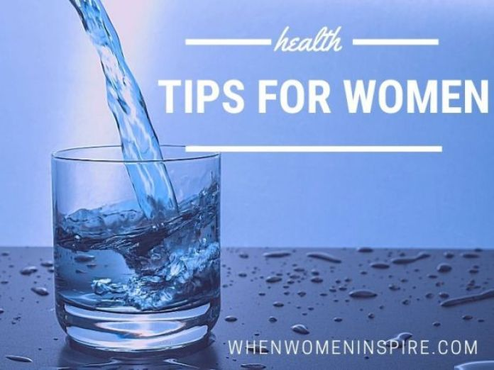 health tips every woman should know