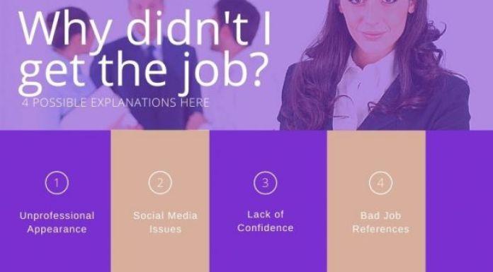 为什么我没有得到那份工作?